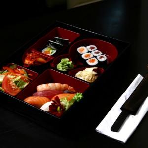 art sushi bento set