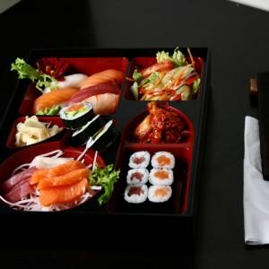 sashimi bento set