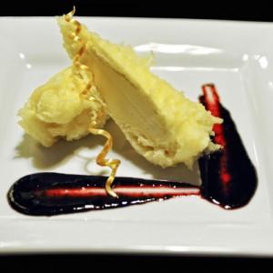 banan w cieście tempura