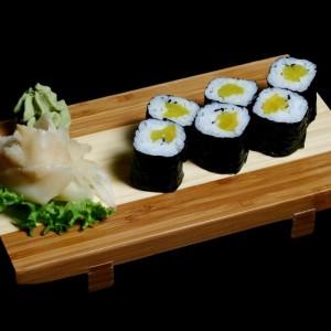 oshinko maki - 12zł / maki sushi z marynowaną rzepą japońską