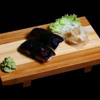shitake - 14zł / nigiri sushi z grzybkami shitake