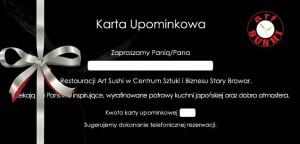 artsushi_karta upominkowa